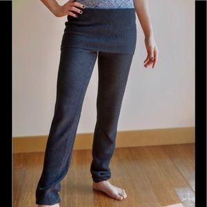 Lululemon Citta Knitted Pants with Skirt